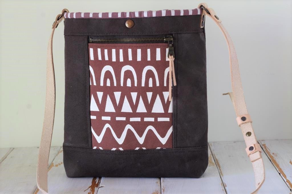 Chocolate Brown Cross Body Bag
