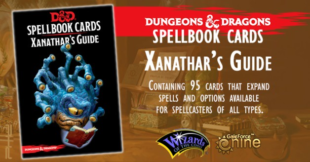 Dungeons & Dragons Spellbook Cards: Xanathar