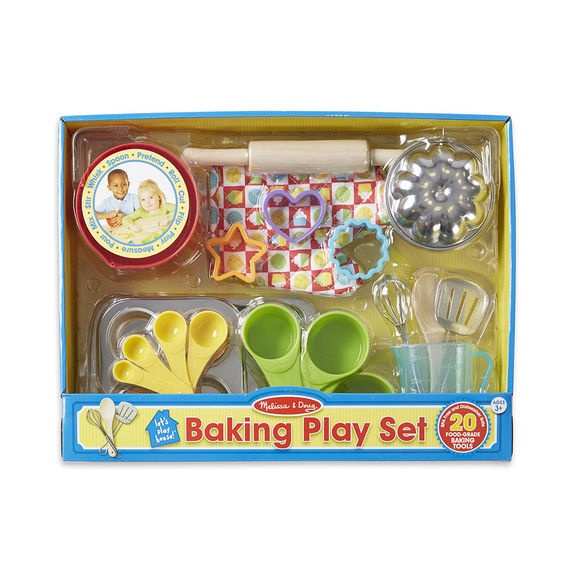 X MD 9356 BAKING PLAY SET