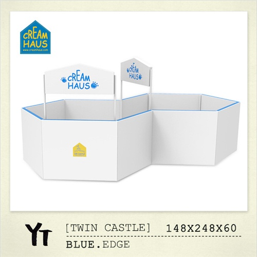 CREAMHAUS Twin Castle YT-blue edge