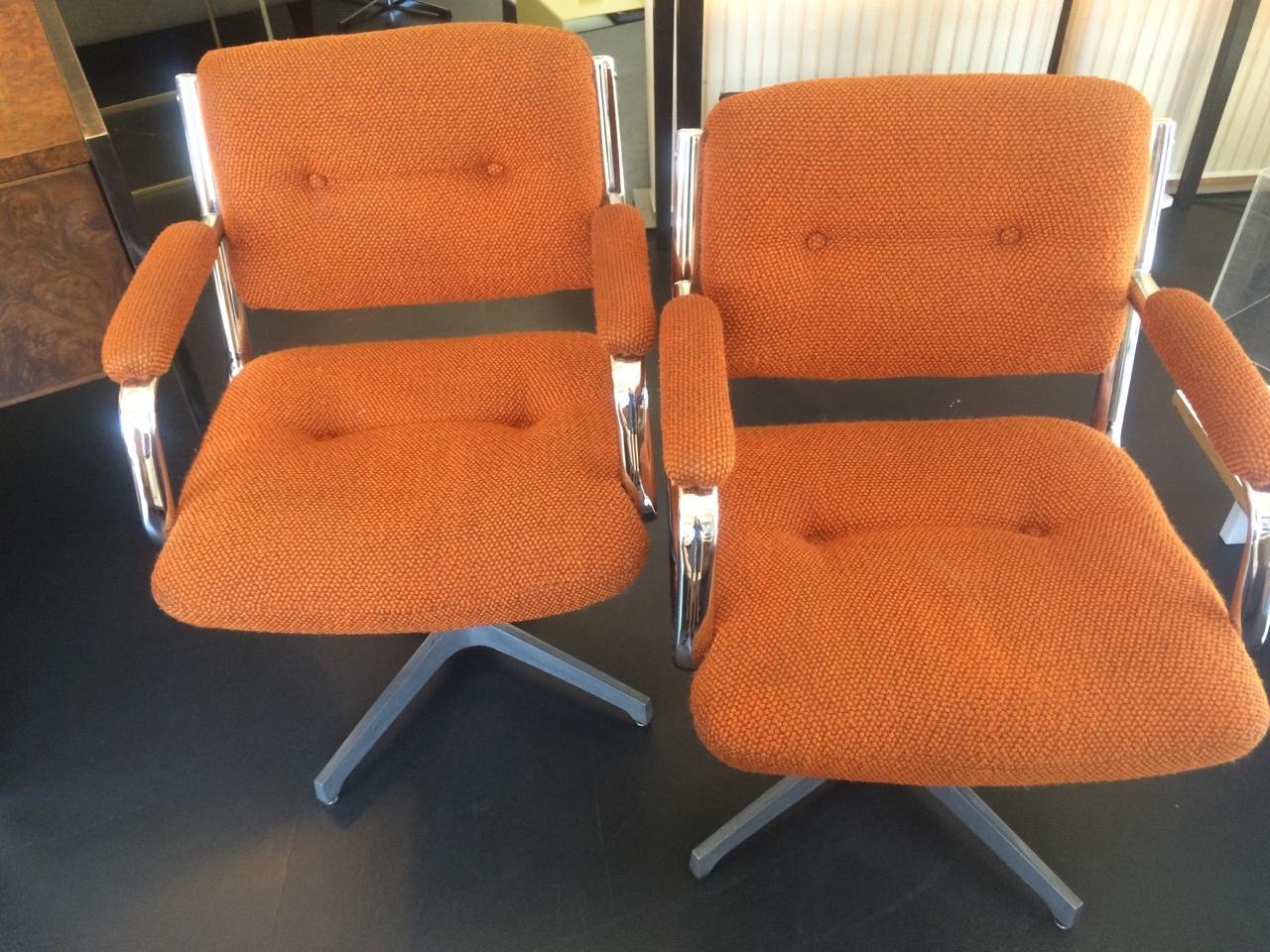 Pair Of Chromcraft Chairs