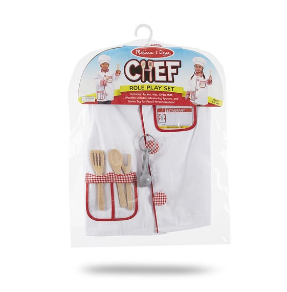 X MD 4838 CHEF ROLE PLAY SET