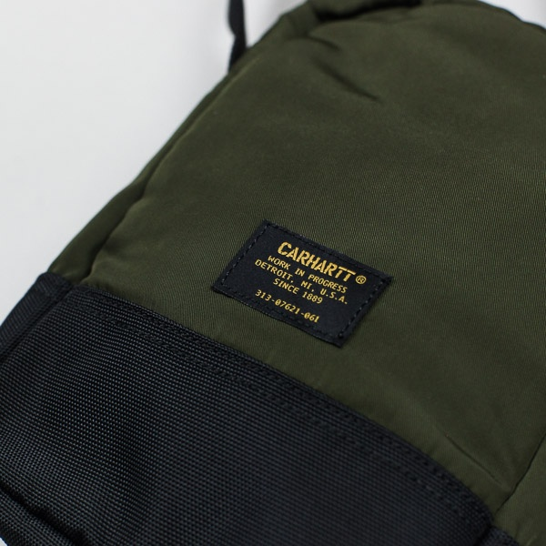 Carhartt W.I.P. Military Shoulder Bag Cypress / Black