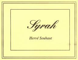 Herve Souhaut Syrah