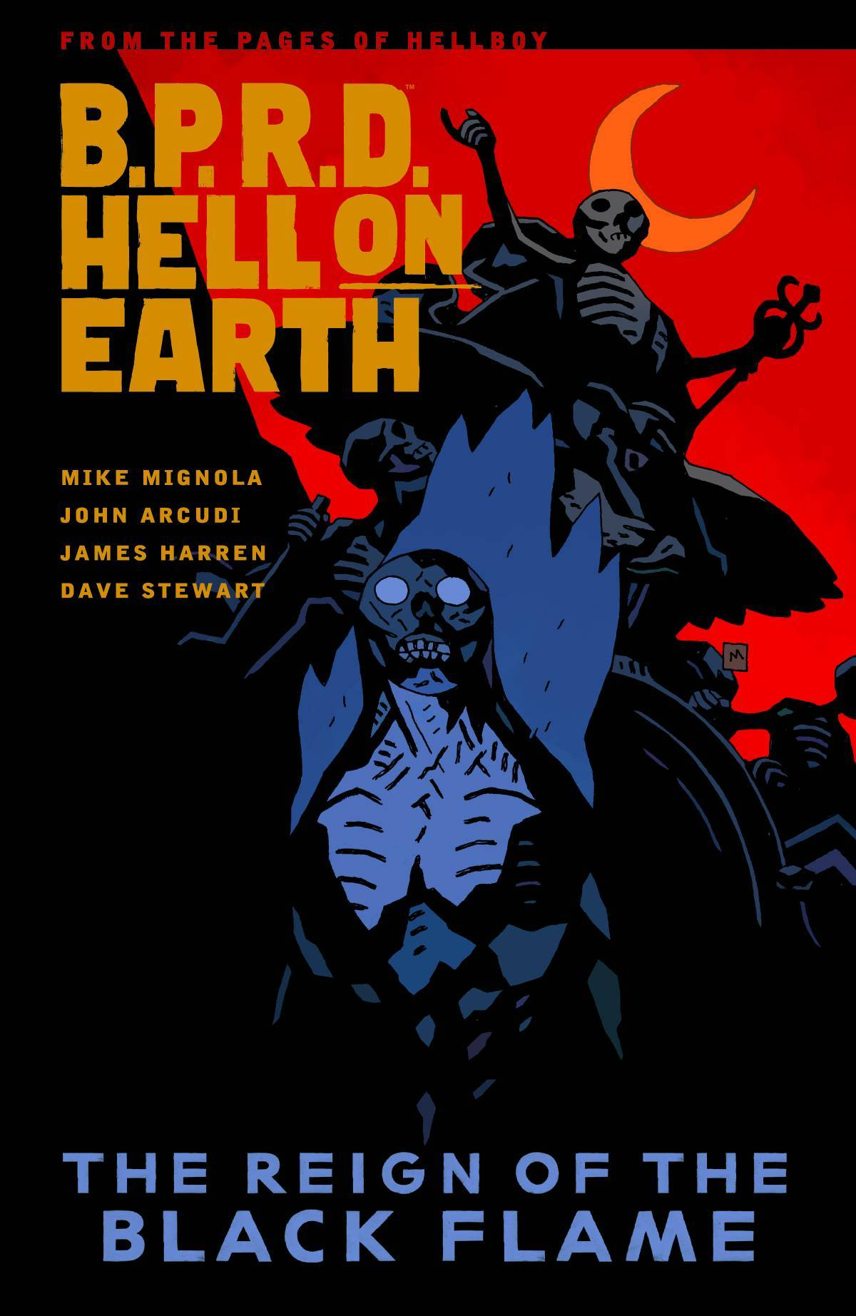BPRD Hell On Earth Vol 09 Reign of Black Flame