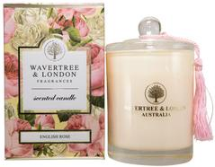 W & L English Rose Candle