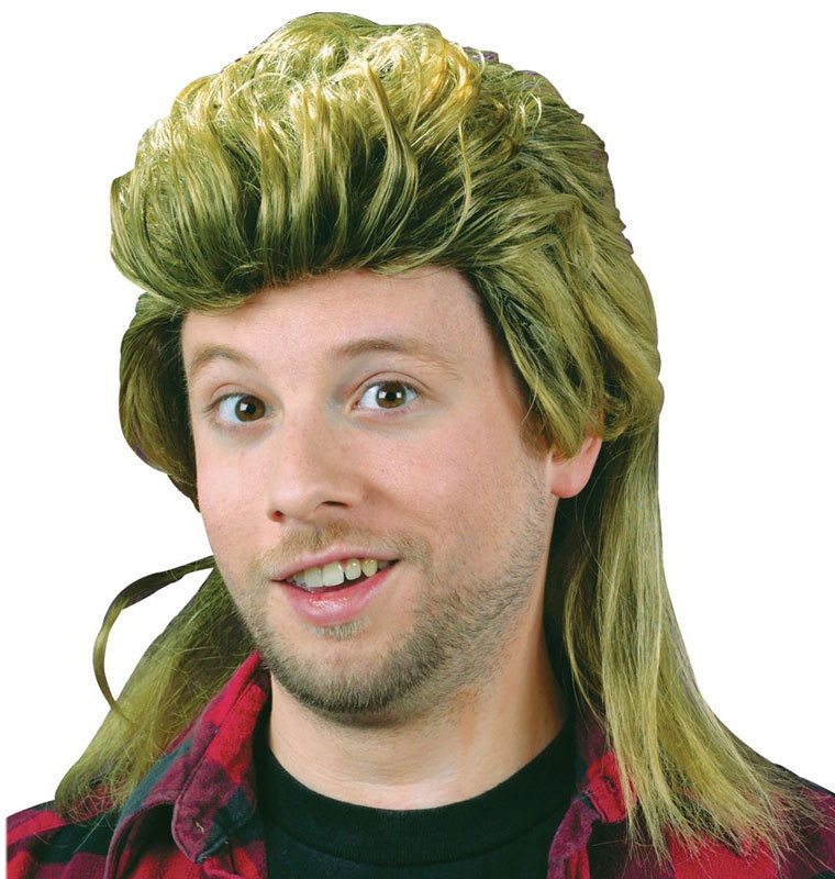 Blond Mullet Wig  bf316f10f92e