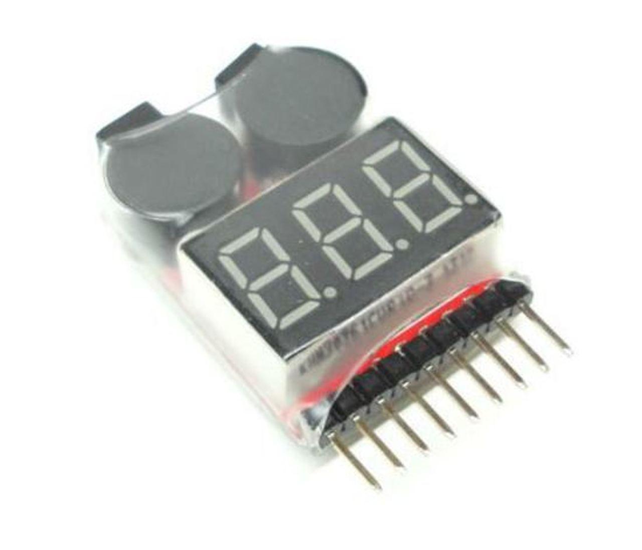 RC Pro #BM001 Lipo Battery Checker/Low Voltage Alarm