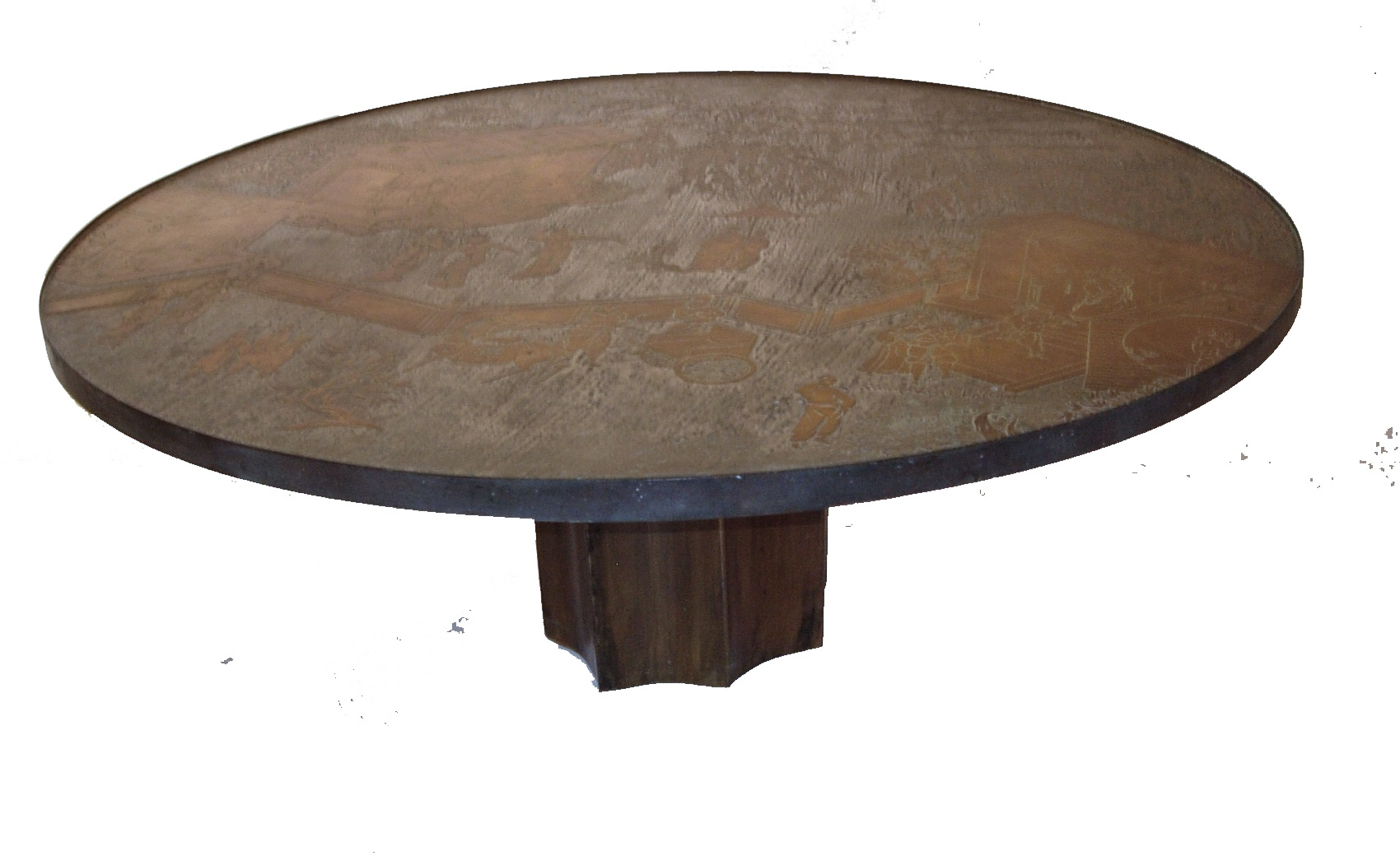 Phillip And Kelvin LaVerne Etruscan Coffee Table ...