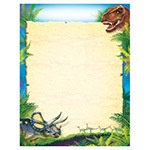 X T 38491 DISCOVERING DINOSAURS BLANK CHART