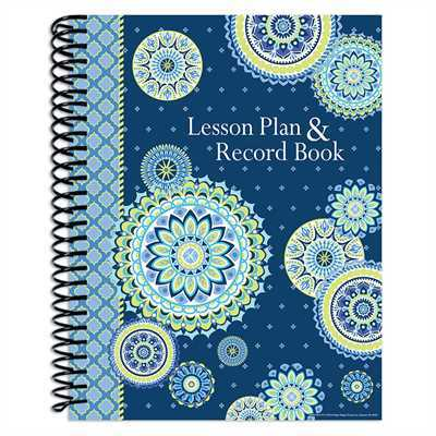 EU 866273 BLUE HARMONY LESSON/RECORD BOOK