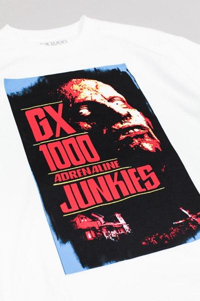 GX1000 Junkies Tshirt White