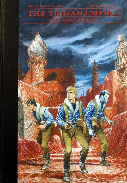 Trigan Empire Vol 05 HC Red Death