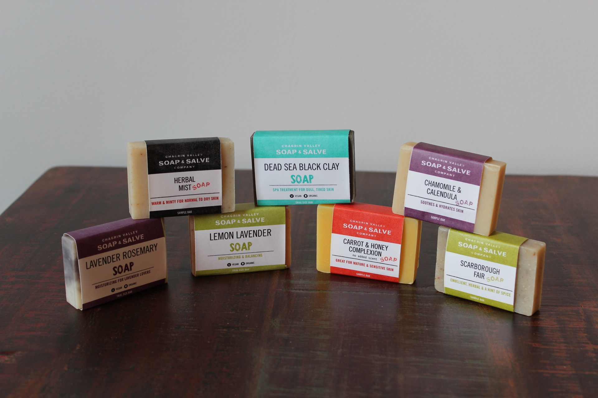 chagrin Valley Sample Soaps