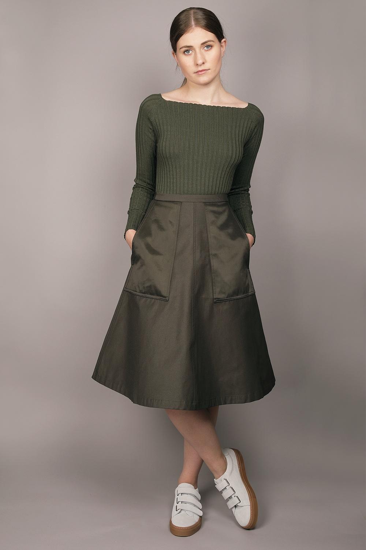 Cathrine Hammel - Midi Pockets Skirt Image