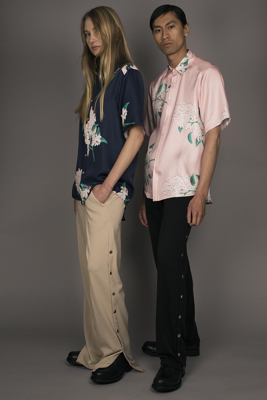 F5 - Lilac Silk Shirt