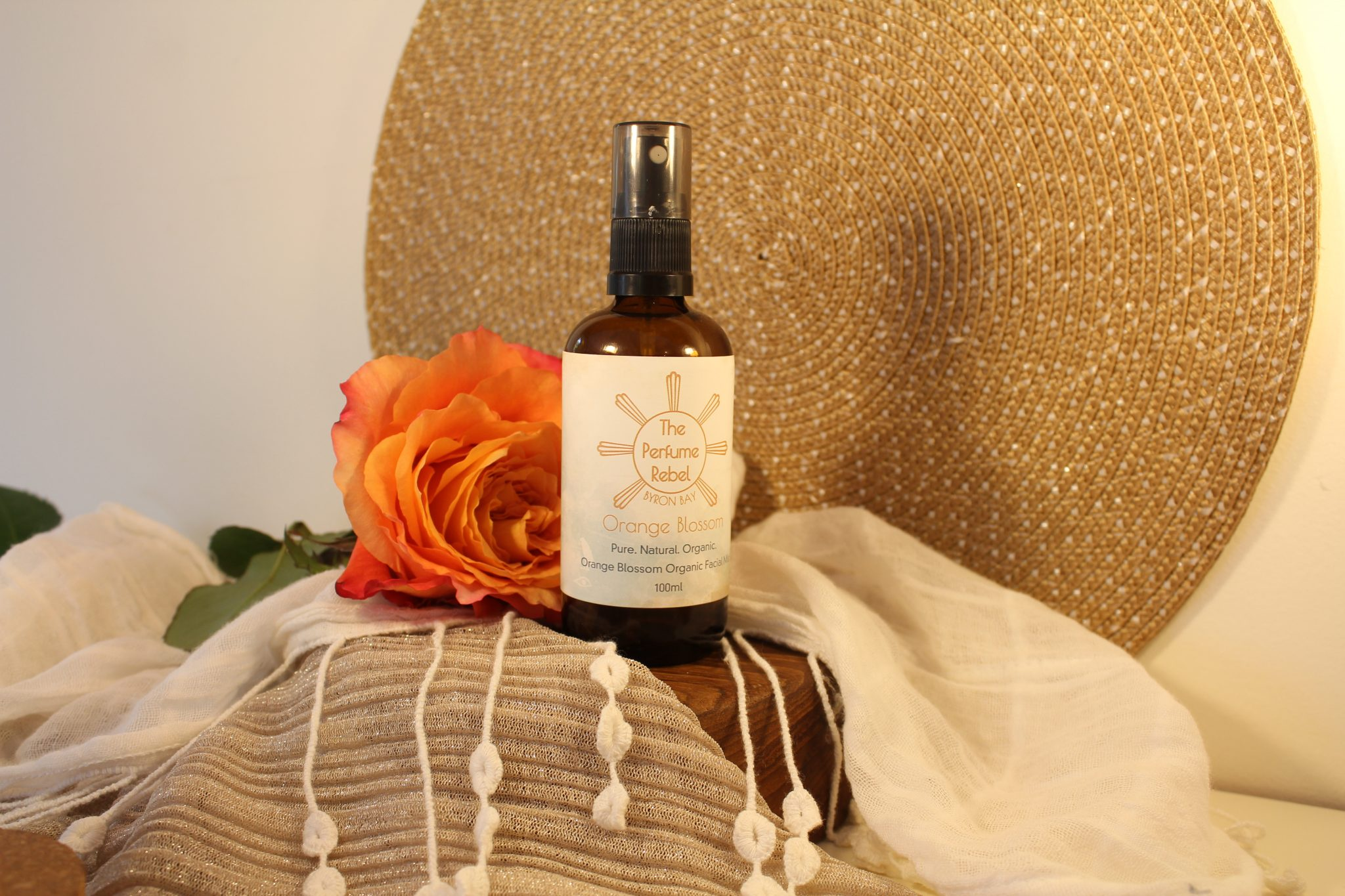 Organic Orange Blossom Facial Mist - 100ml