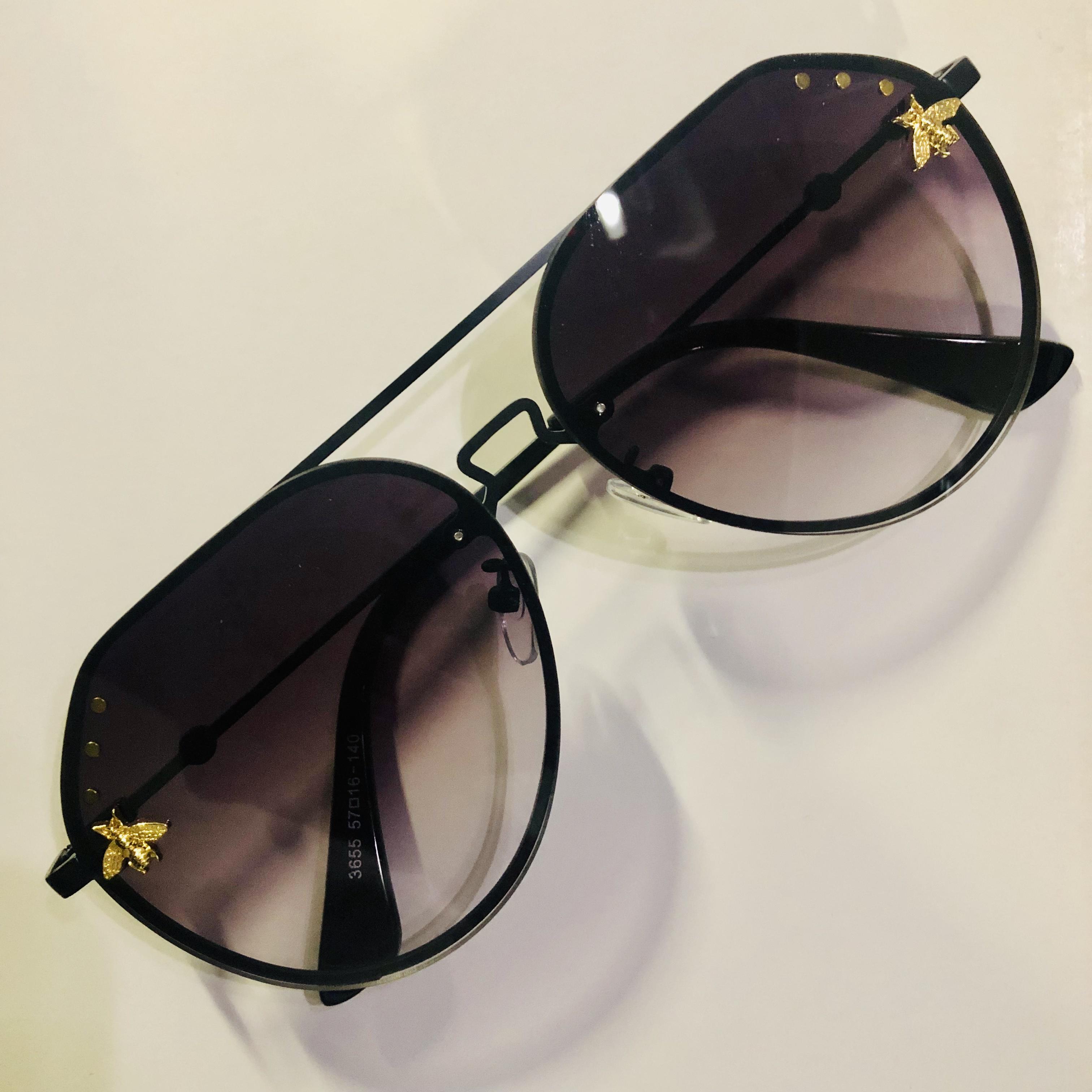 Bee Glasses Metal Frame