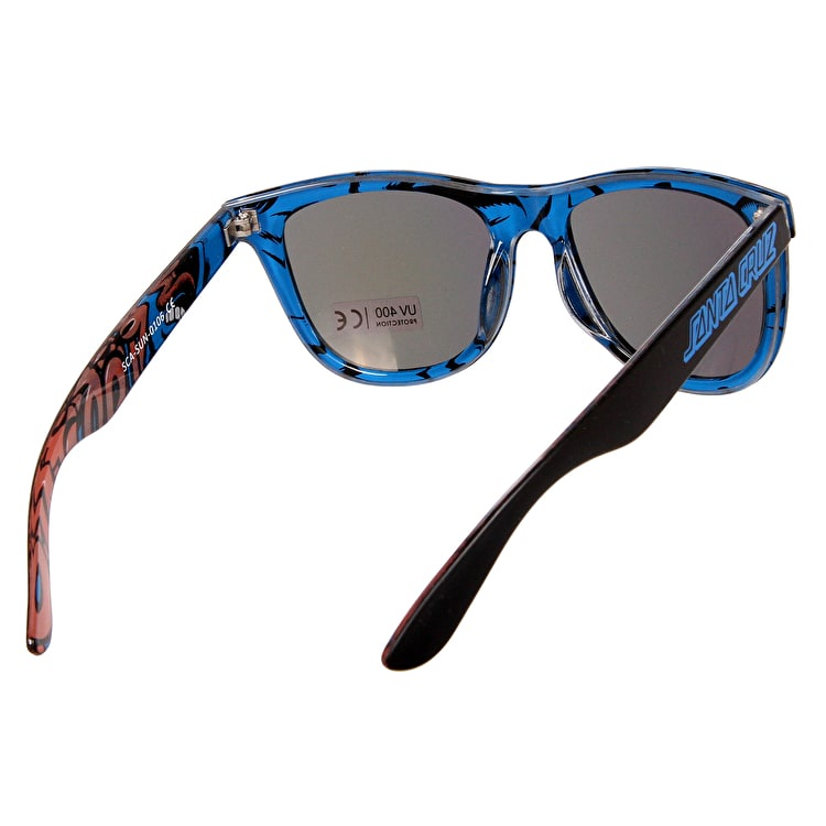 817a912e9799 SCREAMING INSIDER SUNGLASS BLACK/BLUE   Sunglasses   Bathsheba Surf Shop