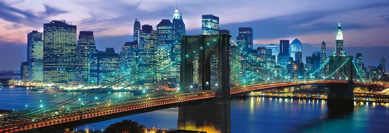 1000 PC PUZZLE NEW YORK BROOKLYN BRIDGE