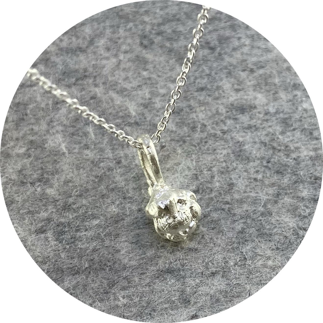 Ada Hodgson - Artichoke Choker, Sterling Silver, 40cm Chain