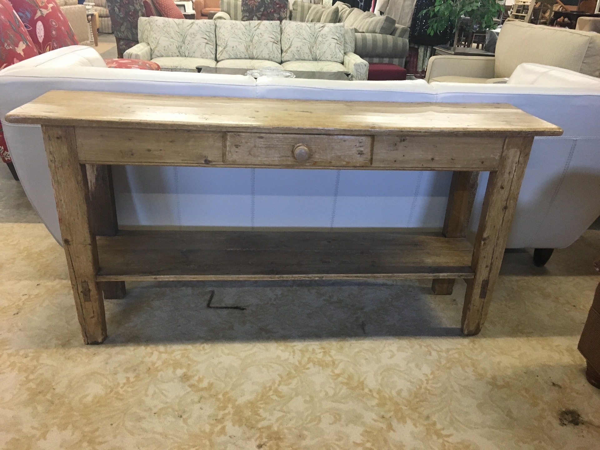 Pine console furniture second chance by the junkluggers pine console geotapseo Gallery