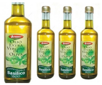 Levante Extra Virgin Olive Oil With Basilica 500ML