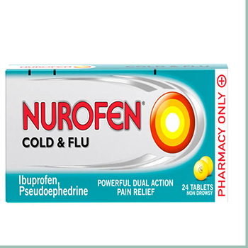 NUROFEN COLD AND FLU 24'S