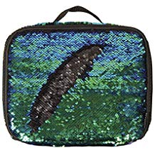 LUNCH TOTE MERMAID SEQUIN