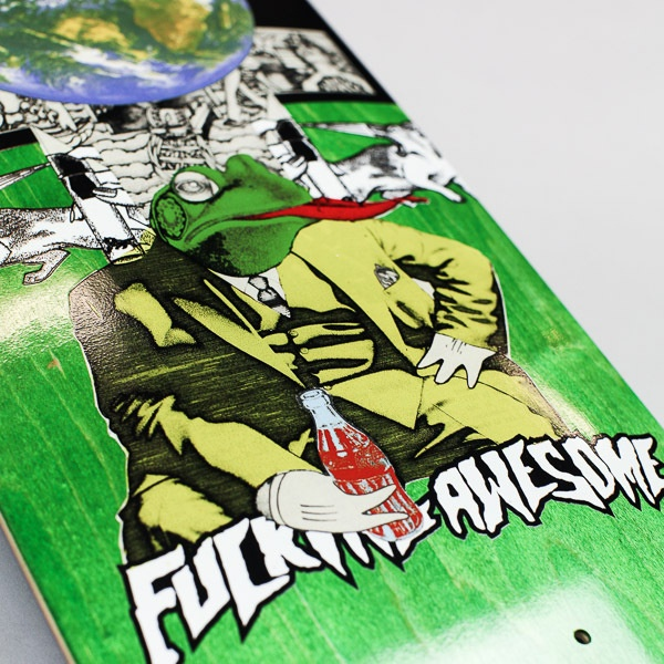"""Fucking Awesome Terp Frog Deck 8.5"""""""