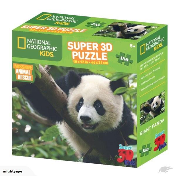 3D PUZZLE GIANT PANDA 150 PCS
