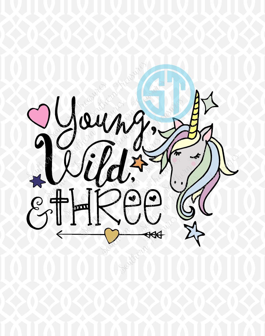 1641c4209a3b Young, Wild, & Three Unicorn - Southern Treasures