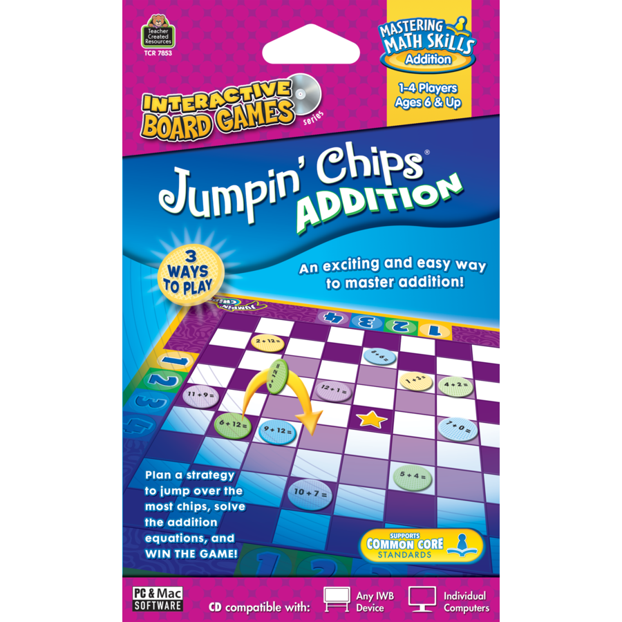 X TCR JUMPIN CHIPS ADDITION