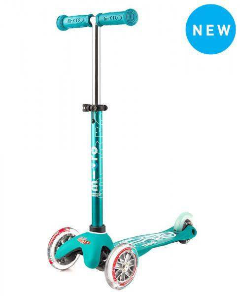 Mini Deluxe Micro Scooter, Aqua, One Size