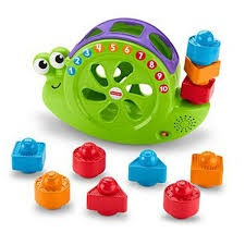FISHER-PRICE ROCK'N SORT SNAIL PAIL