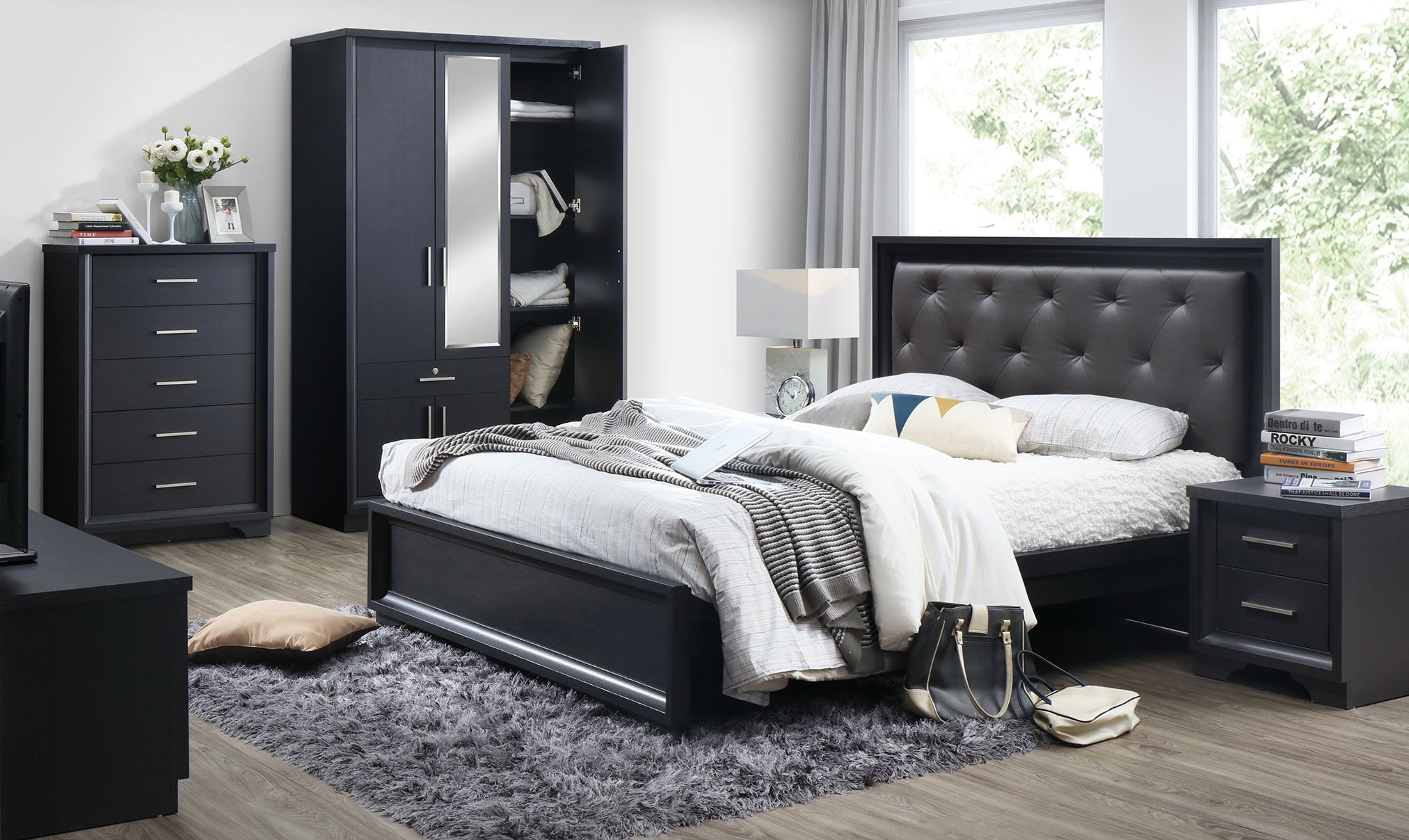 Ashley Bedroom Set 5 Pc Ashley Collection Lifestyle Furniture