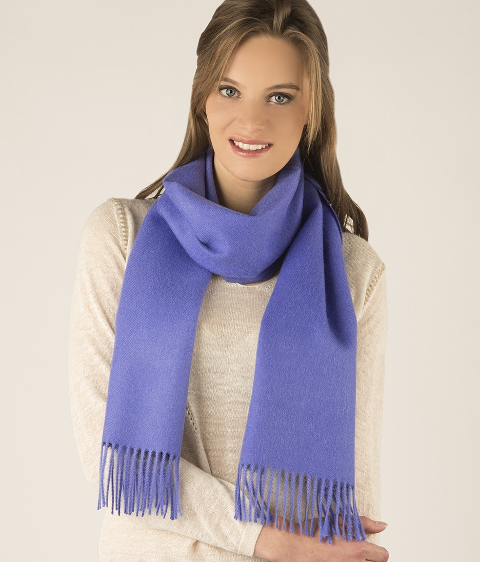 LONG BRUSHED SCARF AZ13497