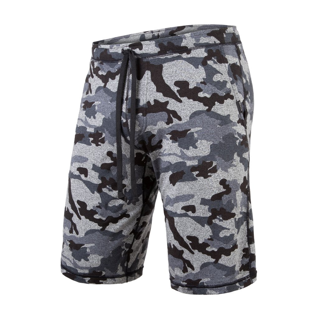 BN3TH - PJ SHORTS IN HEATHER CAMO BLACK
