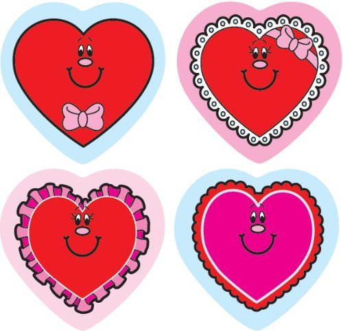 CD 5229 VALENTINE HEARTS STICKERS