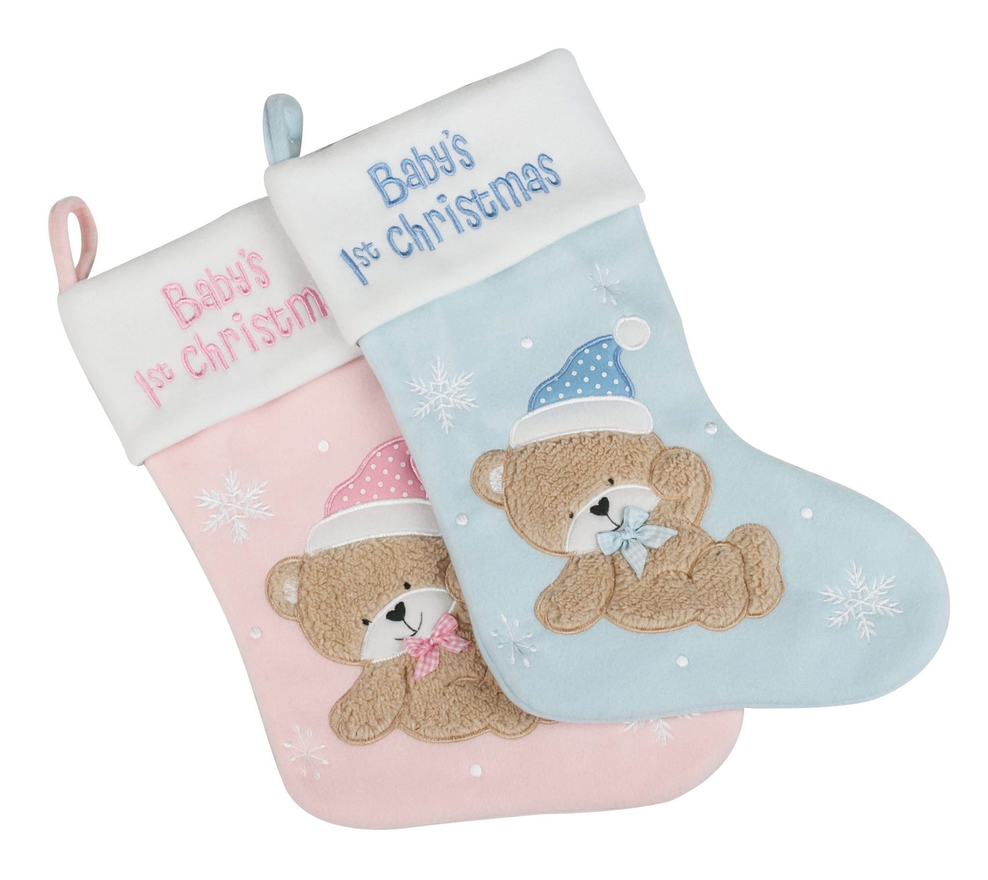 babys first christmas stocking 2 colourways