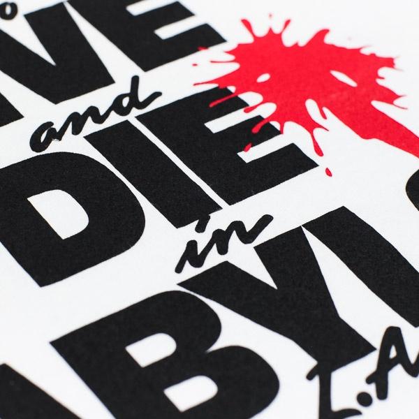 Babylon Live Die Babylon Tshirt White