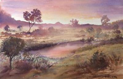 Fundamentals of Watercolour, 4 week course, 24 July 10-12