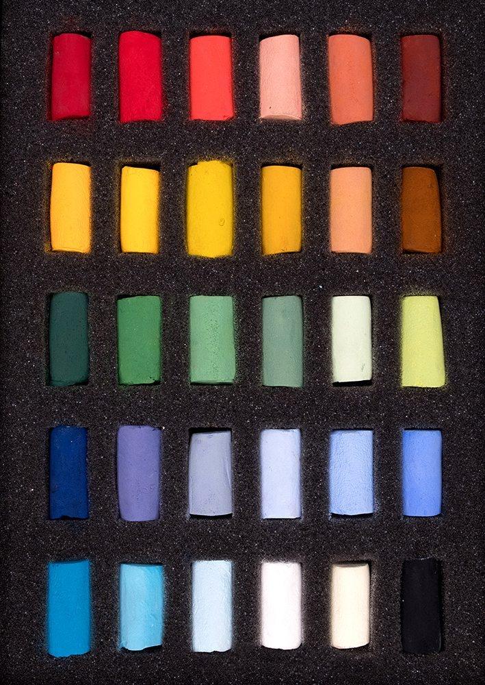Unison Pastel Starter Set of 30 half pastels