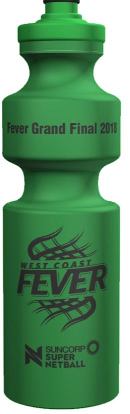 WCF Grand Final 2018 Drink Bottle