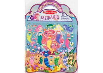 M&D Puffy Sticker - Mermaid