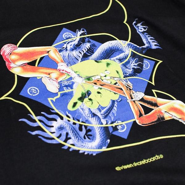Evisen Skateboards Kill Pill Tshirt Black