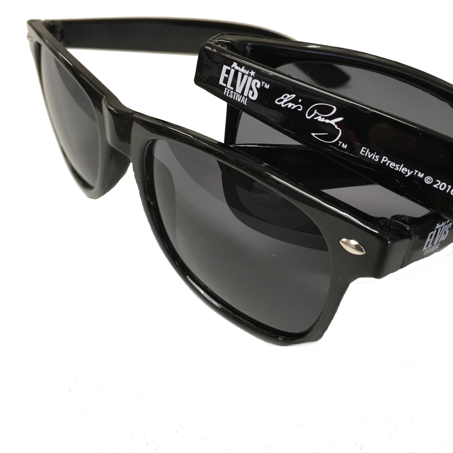 Classic Black Wayfarer Sunglasses