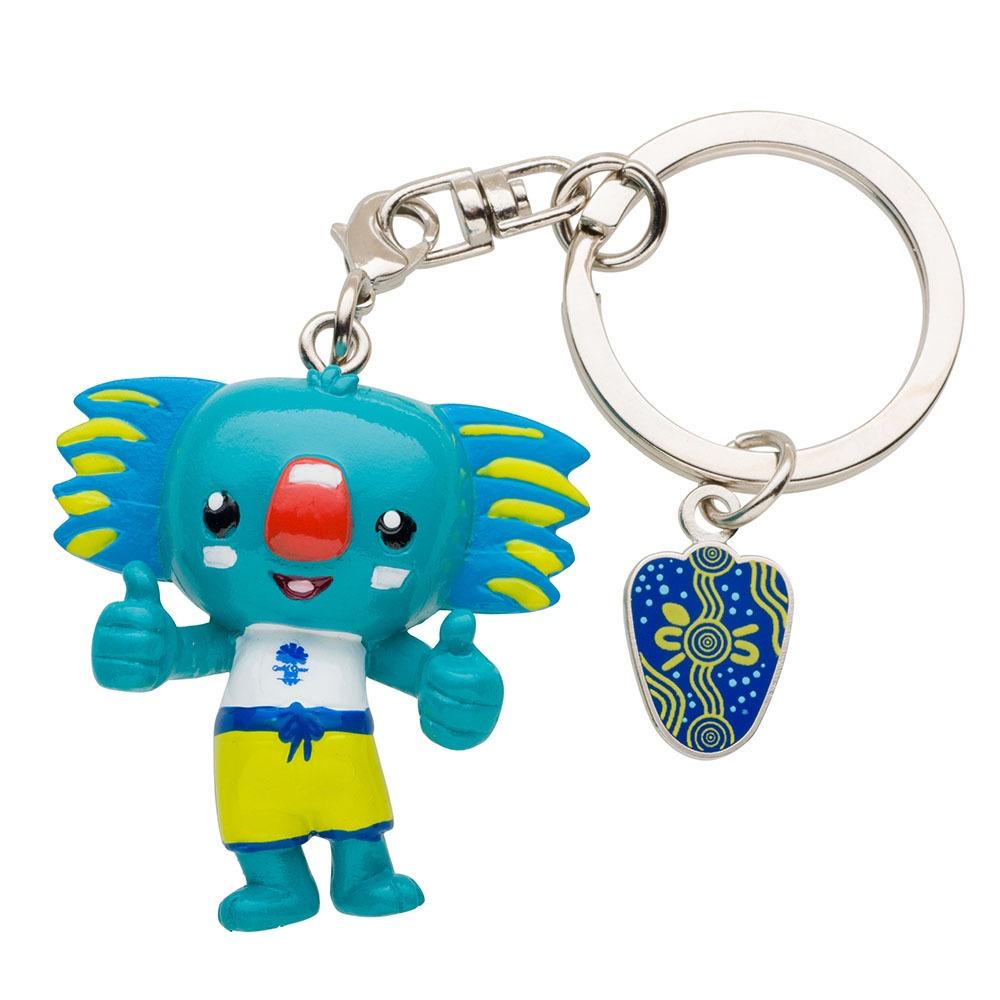Borobi Mascot 3D PVC Keyring