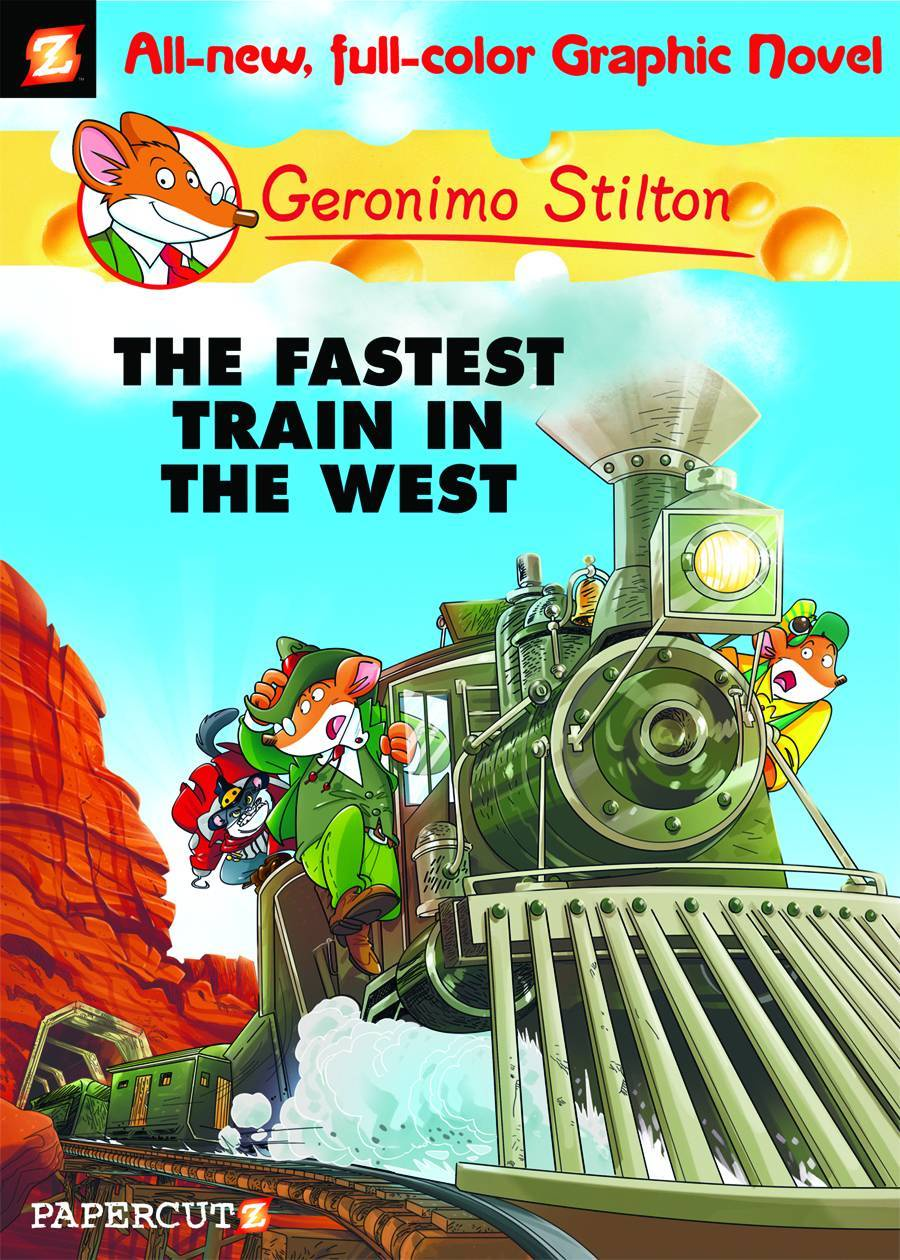Geronimo Stilton HC Vol 13 Fastest Train