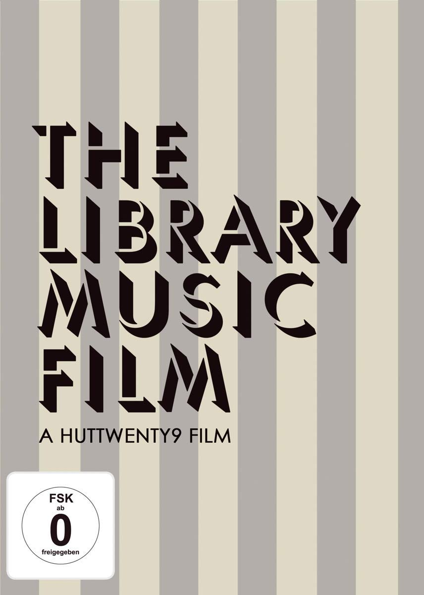 The Library Music Film (region-free DVD)